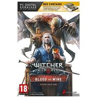 The Witcher 3 Wild Hunt Blood and Wine Limited Edition with Gwent Cards PC Game