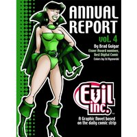 Evil Inc Annual Report Volume 4 Paperback