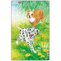 Larsen Rahmenpuzzle - Hunde 10 Teile Puzzle Larsen-H19-1