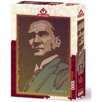 Art Puzzle Atatürk et Conference 1000 Teile Puzzle Art-Puzzle-5170