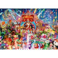 Bluebird Puzzle A Night at the Circus 1000 Teile Puzzle Bluebird-Puzzle-70250-P