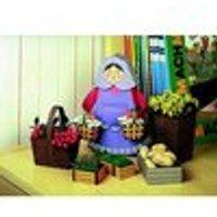 Schreiber-Bogen Kartonmodelbau: Marktfrau mit Körben 2 Teile Puzzle Schreiber-Bogen-72376