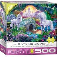Eurographics XXL Teile - Magisches Einhorn Feenland 500 Teile Puzzle Eurographics-6500-5363