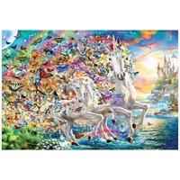 Eurographics Unicorn Fantasy 2000 Teile Puzzle Eurographics-8220-5551