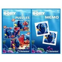 Clementoni 3 Puzzles + Memo - Nemo 20 Teile Puzzle Clementoni-07811