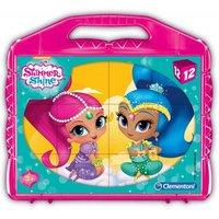 Clementoni Würfelpuzzle - Shimmer & Shine 12 Teile Puzzle Clementoni-41187
