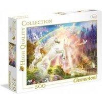 Clementoni Einhörner im Sonnenaufgang 500 Teile Puzzle Clementoni-35054