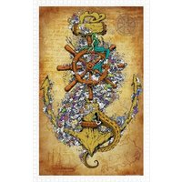 Pintoo Puzzle aus Kunststoff - Into The Deep 1000 Teile Puzzle Pintoo-H1674