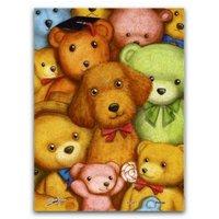 Pintoo Puzzle aus Kunststoff - Teddy Bears 150 Teile Puzzle Pintoo-P1007