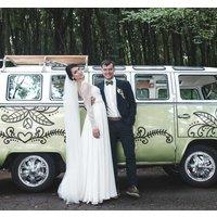 Tenvinilo ES|Pegatina para bodas decoracion coches de boda florales