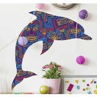Tenvinilo ES|Pegatinas pez Delfines moari art