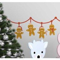 Tenvinilo ES|Vinilo de Navidad cenefa galletas