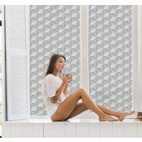 Tenvinilo ES|Vinilo ventana cuadrados 3d