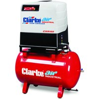 Clarke Clarke CXR100R 10HP 270 Litre Industrial Screw Compressor