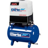 Clarke Clarke CXR100DR 37.1cfm 270Litre 10HP Industrial Scre