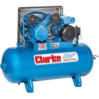 Clarke Clarke XEV16/100 (OL) 14cfm 100Litre 3HP Industrial
