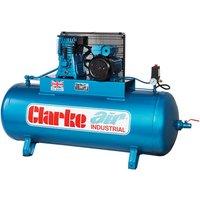 Clarke Clarke XE18/200 (WIS) 18cfm 200Litre 4HP Industrial A