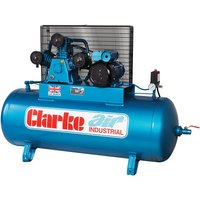 Clarke Clarke XET19/200 (OL) 18cfm 200Litre 4HP Industrial