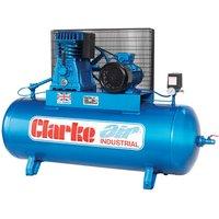 Clarke Clarke XE25/200 (WIS) 23cfm 200Litre 5.5HP Industrial