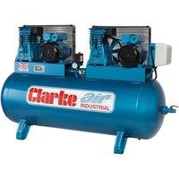 Clarke Clarke XE29/270 (OL) 28cfm 270Litre 2x3HP Industrial