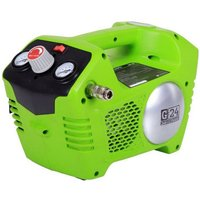 Greenworks Greenworks G24ACK2 24V Compressor Kit with 1x2.0h Battery