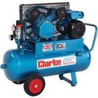 Clarke Clarke XEPV16 50  OL  14cfm 50Litre 3HP Portable Industrial Air Compressor  230V