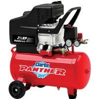 Clarke Clarke Panther 9/25 9.3cfm 24Litre  2.5HP Air Compressor (230V)
