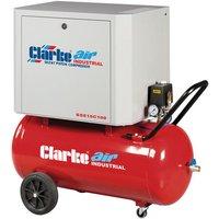 Clarke Clarke SSE15C100 3hp 100Ltr Low Noise Reciprocating Air Compressor