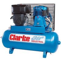 Clarke Clarke SD26KE150 25cfm 150Litre 8.4HP Electric Start
