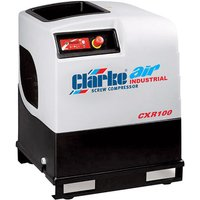 Clarke Clarke CXR100 37.1cfm 10HP Industrial Screw Compresso