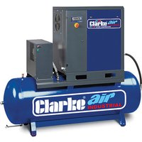 Clarke Clarke CXR15RD 53cfm 270Litre 15HP Industrial Screw