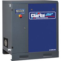 Clarke Clarke CXR20 65.3cfm 0Litre 20HP Industrial Screw Com