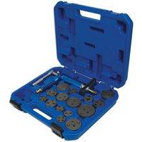 Machine Mart Xtra Laser 3991 16 Piece Brake Caliper Rewind Tool Kit