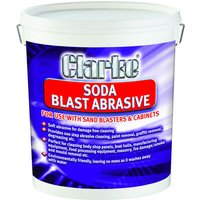 Clarke Clarke Coarse Grain Soda Blast Abrasive  7 5kg