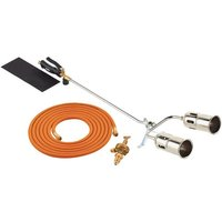 Clarke Clarke PLK1074 700mm Twin Burner Gas Torch Kit