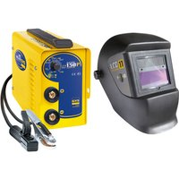 GYS GYS GYSMI 130 P MMA Inverter Welder and LCD 11 Helmet Bundle