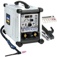 GYS GYS ProTIG 201 AC/DC TIG Welding Machine with Torch and Accessories