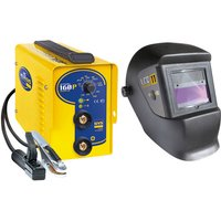 GYS GYS Bundle GYSMI 160P Inverter MMA Welder with LCD Techno 11 Helmet