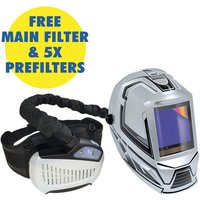 TOOL IT GYS GYSMATIC Air Fed Welding Helmet TrueColour 5 13 XXL