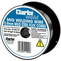 Clarke Clarke Flux Cored Welding Wire 0.9mm 0.45kg