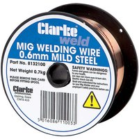 Clarke Clarke Mild Steel Welding Wire 0.6mm 0.8kg