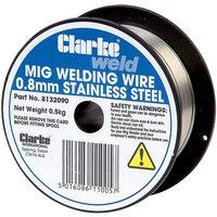 Clarke Clarke MIG Stainless Steel Welding Wire 0.8mm - 0.5kg
