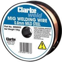 Clarke Clarke Mild Steel Welding Wire 0.8mm 15kg