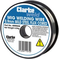 Clarke Clarke Flux Cored Welding Wire 0.9mm 4.5kg