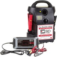 SIP SIP 12V/24V 5024 Pro Booster & Chargestar Smart 8 Battery Charger