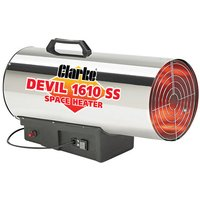 Clarke Clarke Devil 1610ss Propane Fired Space Heater