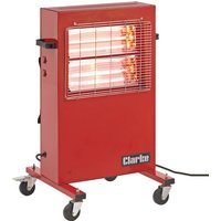 Clarke Clarke Devil 370P Quartz Halogen Infra-red Heater (230V)