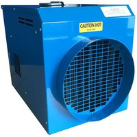 Broughton Broughton FF13 9kW Electric Fan Heater with 250mm spigot  400V