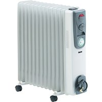 Clarke Clarke 2 5kW Oil Filled Radiator With Timer   OFR 13 250