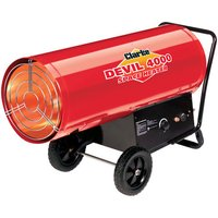 Clarke Clarke Devil 4000 400,000 BTU Propane Gas Fired Space Heater